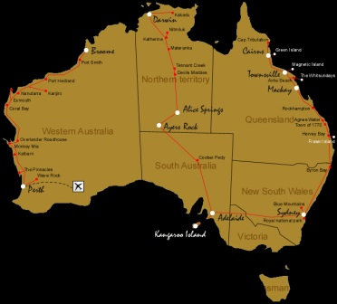 Carte Australie Du Sud Est.Les Africains D Australie