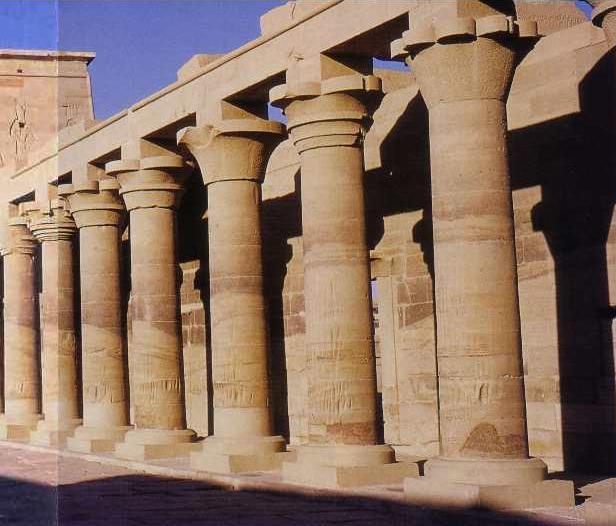 Sources le biomim tisme for Architecture egyptienne